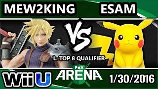 PAX – PG | Esam (Pikachu) Vs. CoG MVG | Mew2King (Cloud) SSB4 L Top 8 Qual. – Smash Wii U – Smash 4
