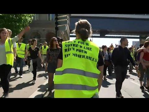 Frankreich: Gelbwesten protestieren »Alles für Notre- ...