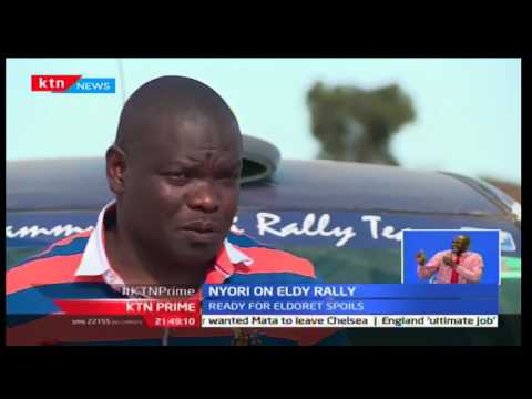 KTN Prime: 2W Driver Sammy Nyori is optimistic in the Eldoret Safari Rally, 29/09/2016