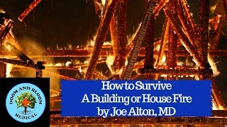 Structure fires can spread rapidly inside filling the area with flames and dark smoke. Knowing how to escape fires safely and quickly can save your family. Hosted by Joe Alton, MD of Medical Preparedness site: https://www.doomandbloom.net/http://store.doomandbloom.net/https://www.facebook.com/doomandbloom/https://twitter.com/preppershow