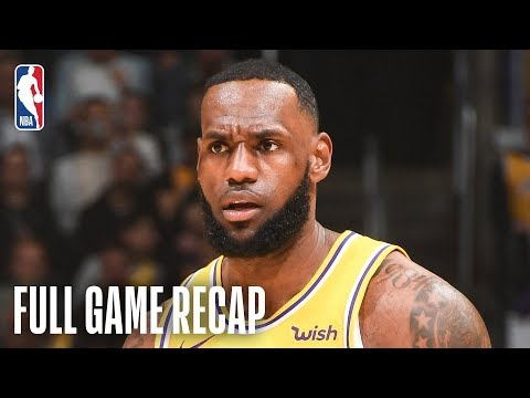 Video: ROCKETS vs LAKERS | LeBron Leads Second Half Comeback | February 21, 2019