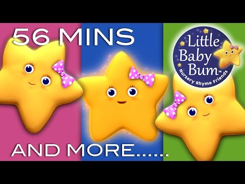 STAR - Twinkle Twinkle Little Star | Plus Lots More Nursery Rhymes | 56 Minutes Compilation! HUGE collection of nursery rhymes! from LittleBabyBum 0:04 Twinkle Twin...