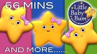 Twinkle Twinkle Little Star | Plus Lots More Nursery Rhymes | 56 Minutes from LittleBabyBum! Video