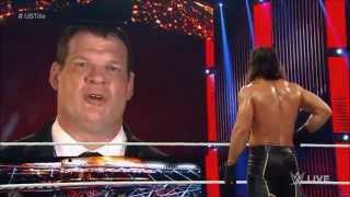 Video WWE Demon Kane threatens and attacks Seth Rollins: Raw, Sept. 21-28, 2015 MP3, 3GP, MP4, WEBM, AVI, FLV Juni 2018