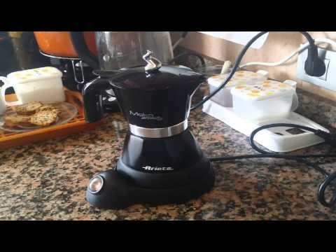 OPINIÓN CAFETERA ARIETE MOKA COFFEE MAKER REVIEW