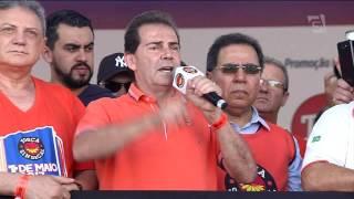 Já a Força Sindical fez a festa para comemorar o dia do trabalho na zona norte de São Paulo. Os sindicalistas também criticaram as reformas propostas pelo go...