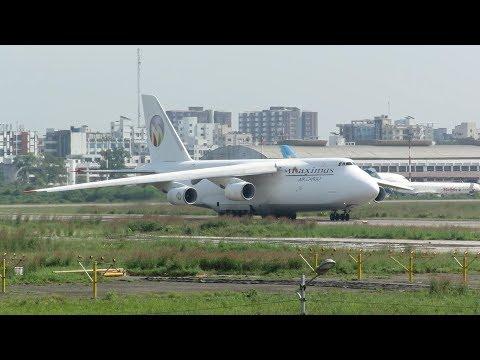 A Very Rare GIANT Antonov An-124...