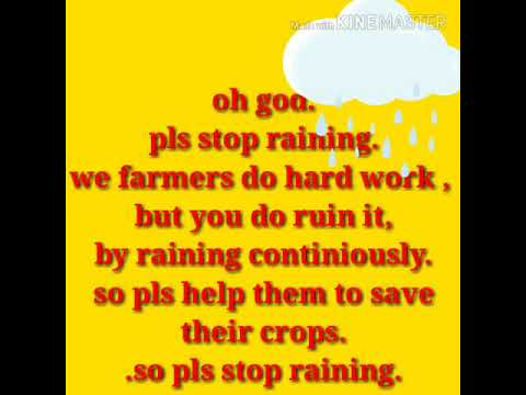 God quotes - Oh god, pls stop raining prayer from a farmer]] stop rainy quotes