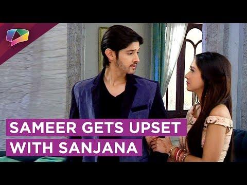 Sameer Gets Upset With Sanjana | Simar Creates Pro