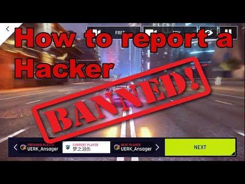Asphalt 9 Nitro Hack – Report a Hacker in Asphalt 9