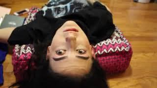 Upside down makeup challenge