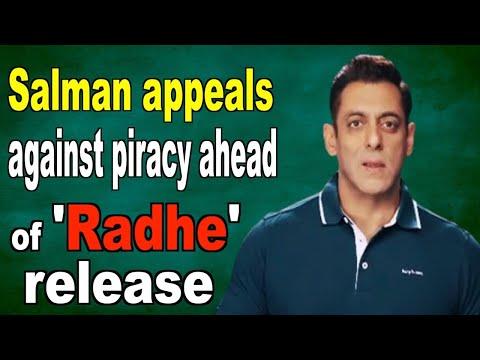 Salman Khan appeals against piracy ahead of Radhe release