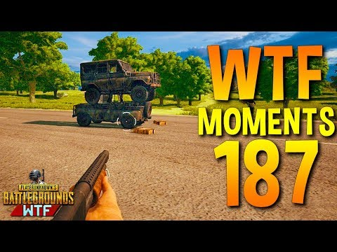 PUBG Funny WTF Moments Highlights Ep 187 (playerunknown's battlegrounds Plays) (видео)