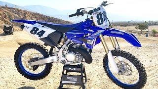 3. First Ride 2020 Yamaha YZ250 2 Stroke - Motocross Action Magazine