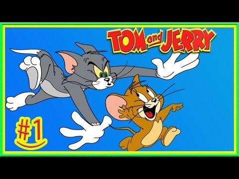 Том и Джерри 1 Как МЫШКА ВОРИШКА Веселая игра для детей Джерри убегает от кота Тома
