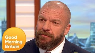 Video WWE Superstar Triple H Addresses Conor McGregor and Ronda Rousey Rumours | Good Morning Britain MP3, 3GP, MP4, WEBM, AVI, FLV Juni 2018
