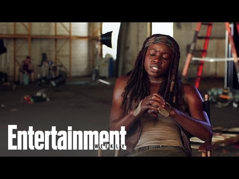 The Walking Dead: Danai Gurira On Michonne, Season 5 & More   Entertainment Weekly