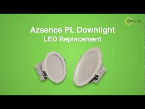 Energy Efficient PL LED Down Lights