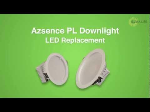 Energy Efficient PL LED Down Lights