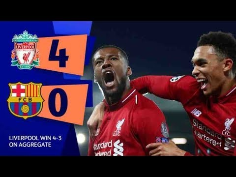 Hasil Liverpool Vs Barcelona: Menang 4-0, The Reds Ke Final