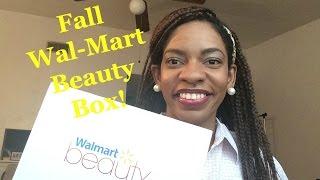 Wal-Mart Beauty Box-Fall 2015