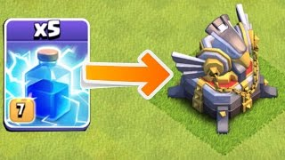 Video PAYBACK TIME!!!😀 X5 LIGHTING CHALLENGE!!😀Clash Of Clans MP3, 3GP, MP4, WEBM, AVI, FLV Mei 2017