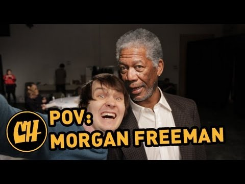 POV - Freeman spends his lunch break on a movie set. See more http://www.collegehumor.com LIKE us on: http://www.facebook.com/collegehumor FOLLOW us on: http://www...