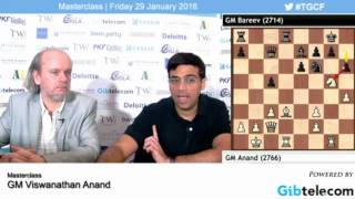 A masterclass at the Tradewise Gibraltar Chess Festival 2016 by Viswanathan Anand. The five-time world champion starts by ...