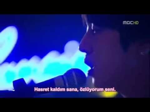 Because I miss you(TurkishSub-Türkçe Altyazı) - Jung Yong Hwa (C.N.Blue) Heartstrings OST (видео)