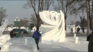 The Harbin 哈尔滨 Ice and Snow Festival