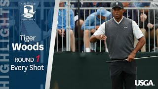 Video 2019 U.S. Open: Every Shot of Tiger Woods' First-Round 70 MP3, 3GP, MP4, WEBM, AVI, FLV Juni 2019