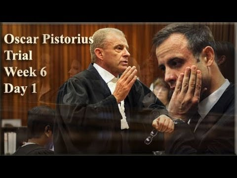 [2] - Paralympian Oscar Pistorius spend a sixth day in the witness box in the North Gauteng High Court in Pretoria....http://owl.li/vKH91.