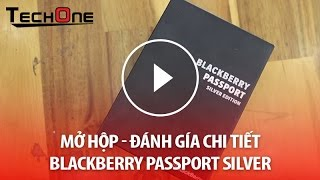 Blackberry Passport Silver Edition - Quốc tế