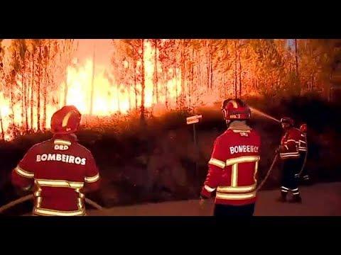 Video - Νέος πύρινος εφιάλτης στην Πορτογαλία - Νεκροί από κακοκαιρία στην Ιταλία