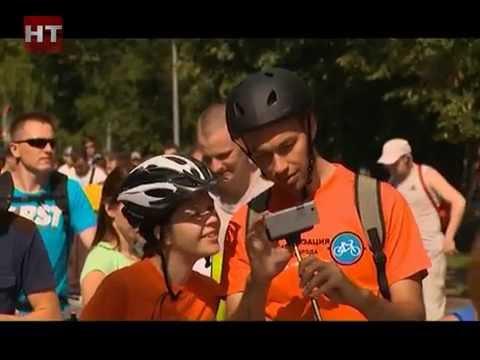 В воскресенье состоялся массовый велопробег «История в движении»