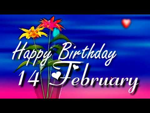 Birthday wishes for best friend - 14 February Birthday status  Birthday Status 14 February