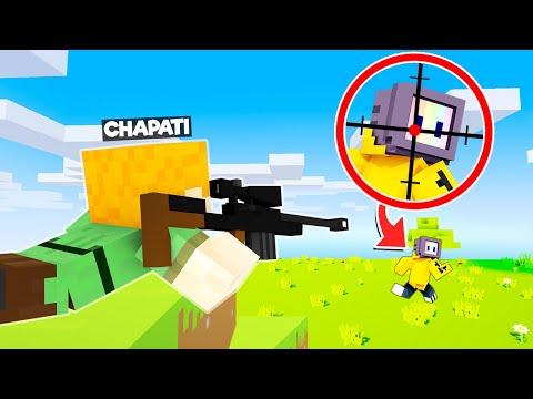 SPEEDRUNNER VS CHAPATI HUNTER WITH GUNS