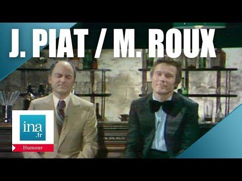 """Jean Piat et Michel Roux """"Pas deux comme elle"""" - Archive INA"""