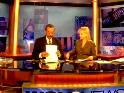 What Anchors do During Commercials