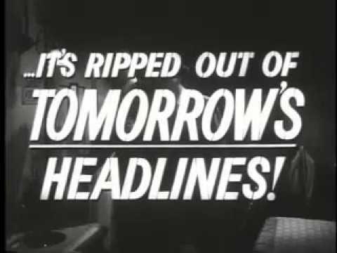 Trailer For Chicago Confidental, 1950's Film Noir