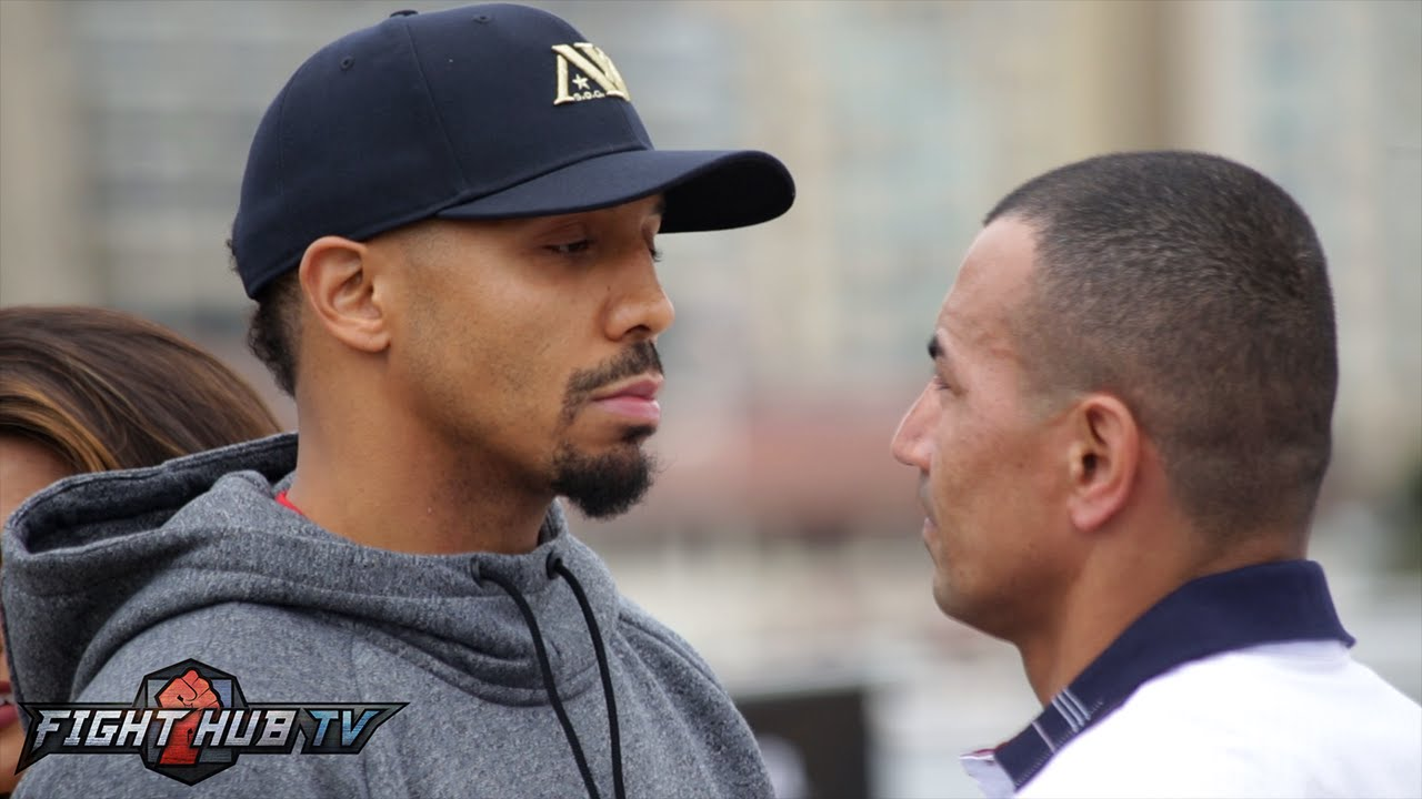 Andre Ward vs. Alexander Brand COMPLETE Final Press Conference Face Off Video