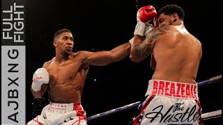 Download Video Full Fight | AJ Vs Dominic Breazeale TKO MP3 3GP MP4