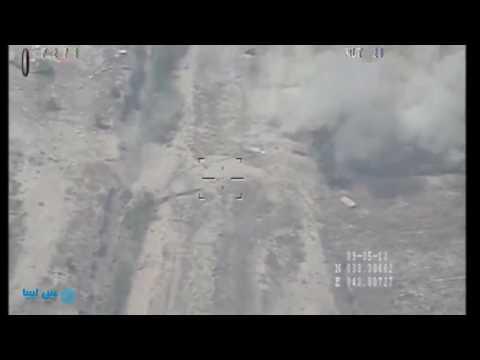بالفيديو.. غارات جوية عراقية ضد أهداف لـ«تنظيم الدولة» في الفلوجة