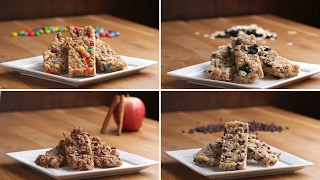 Homemade Chewy Granola Bars 4 Ways by Tasty