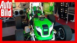 AUTO BILD Quick Shot: Viking V8-Rasenmäher (insane lawn mower) by Auto Bild