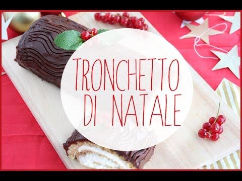 tronchetto di cioccolato - ricetta natalizia
