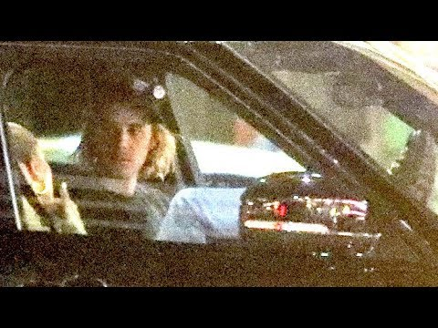 EXCLUSIVE - Justin Bieber Pulls Over After Church Due To Shaking Episode As Hailey Baldwin Watches