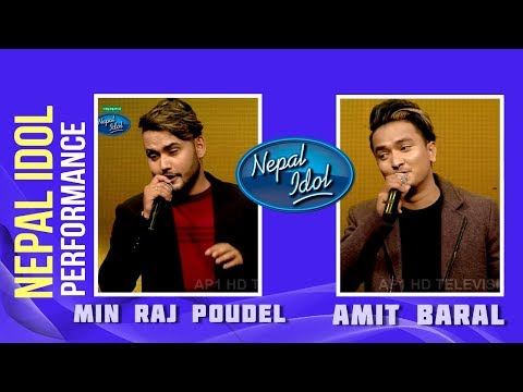 (Khusi Chhu | Nepal Idol Performance | Min Raj Poudel & Amit Baral | Nepal Idol Season 2 | Nepal Idol - Duration: 7 minutes, 15 seconds.)