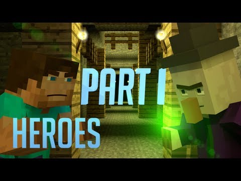 Minecraft Animation | HEROES - Part One