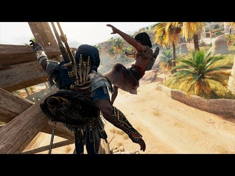 Assassin's Creed Origins: Master Assassin - Stealth Outpost Clearing - Gameplay #25